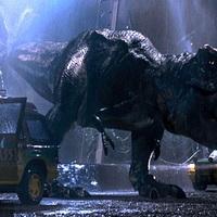 Jurassic Park 3D: Lassított kutyahangon üvölt a T-Rex