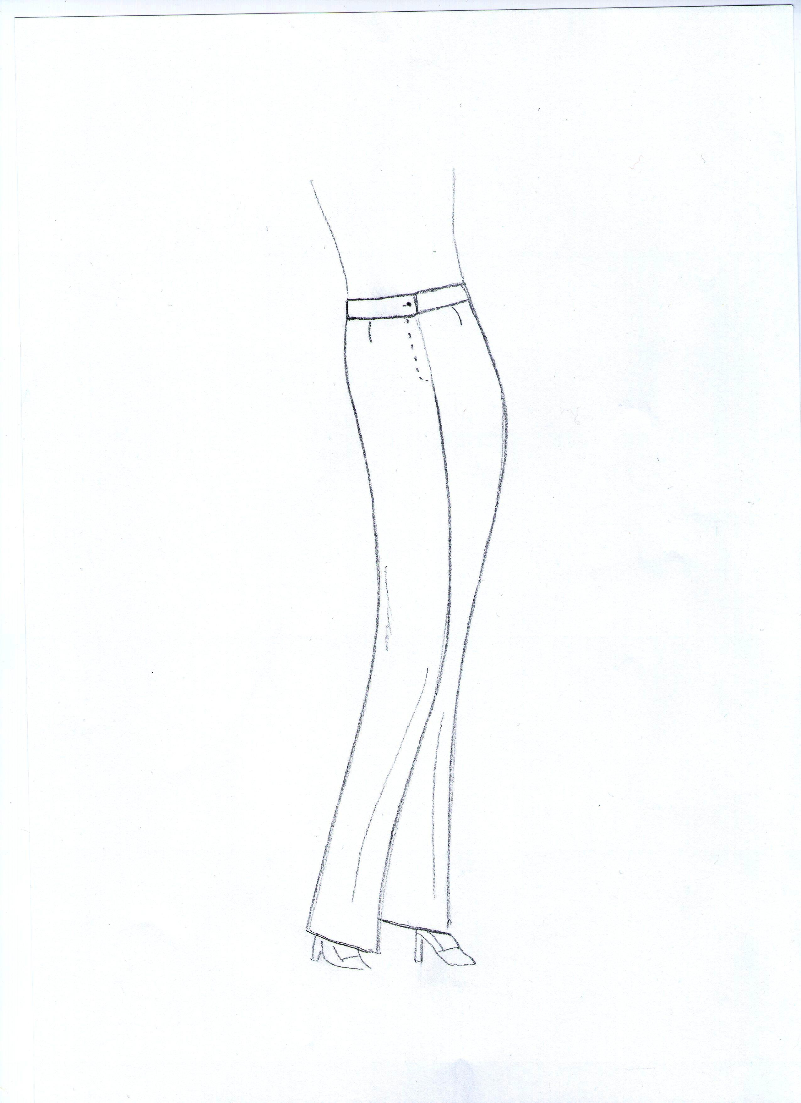 Elegáns nadrág