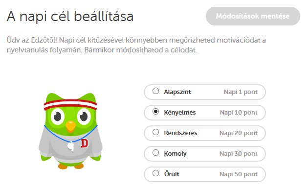 Ajánló: Online angol - Duolingo