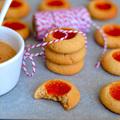 Peanut butter&jelly cookies és házi mogyoróvaj