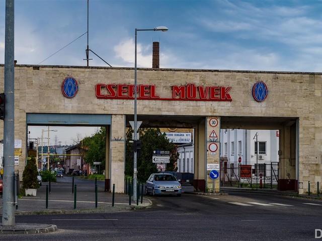 Újra szállt a kék füst Csepelen - Pannónia találkozó 2018.04.30.