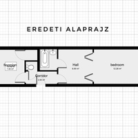 Menő budapesti lakások: Miért tegyük a hálószobát a konyha helyére?