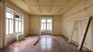 Így lehet friss, vidám irodát létrehozni egy nagypolgári lakásban
