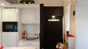 Menő budapesti lakások: Mi minden fér el 21 négyzetméteren?