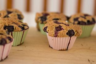 Narancsos áfonyás muffin