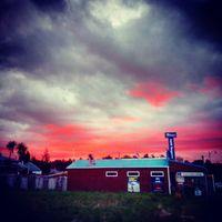A vihar előjele. Sign of the storm. #mertutaznijo #eupolisz #újzéland #newzealand #tongariro #sky #storm #sunset