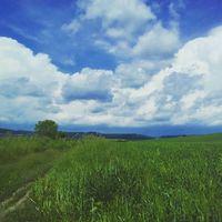 Otthon, édes otthon. Home sweet home. #mertutaznijo #vadna #summer #clouds #borsod #banvolgye