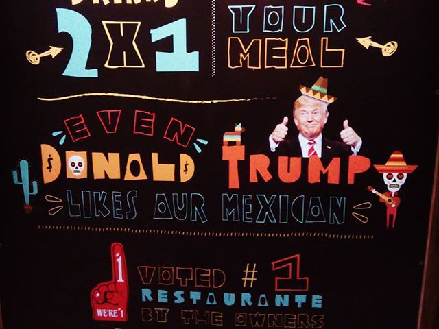 Bit of humour:) #mertutaznijo #costarica #trump #mexicanfood #humour