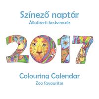 PANDALA SZÍNEZŐ NAPTÁR 2017