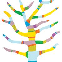 Háttérmatricák / Pandala Tree Background Stickers