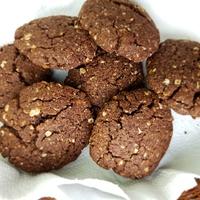 Fitt zabos-kakaós cookies