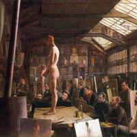 Aktmodellek 1891, Julian Akadémia