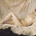 Valentin Alexandrovich Serov (1865 – 1911): Női modell