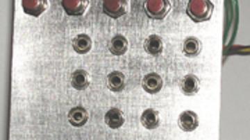 MIDI/CV konverter összeszerelhető készletben