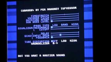 Tizenegy valós idejű effekt C64-en