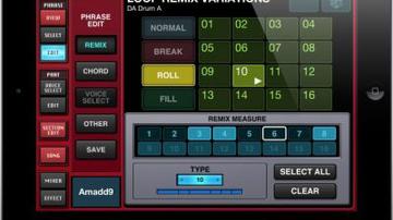 A Yamaha is dobott egy iPad-szekvenszert