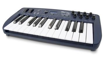 Drótnélküli MIDI-billentyűzet