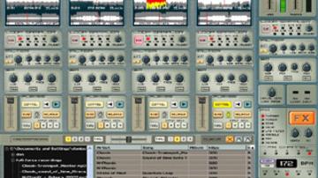 Négycsatornás DJ szoftver