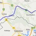Szeged-Mórahalom-Kelebia-Csikéria-Bácsalmás-Bácsbokod