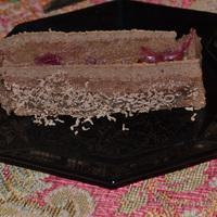 Meggyes- gesztenyés sütemény