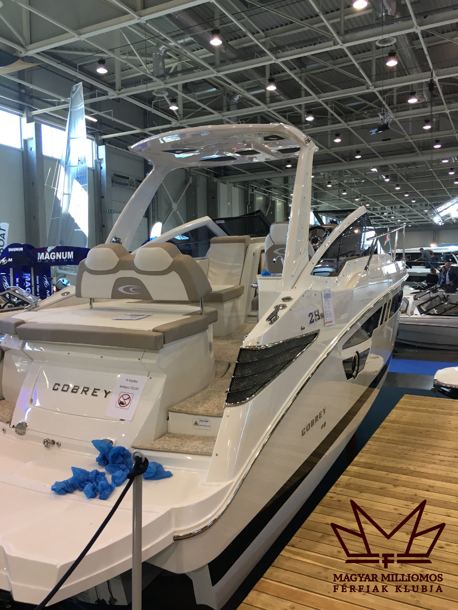 cobrey 28sc 1 budapest boat show 2017 mmfklub