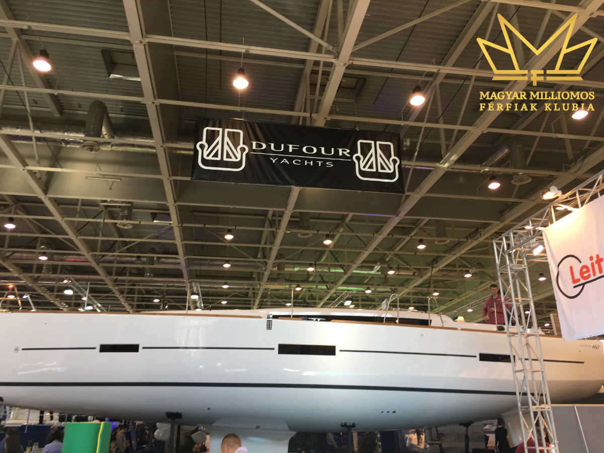 dufour 460 budapest boat show 2017 mmfklub