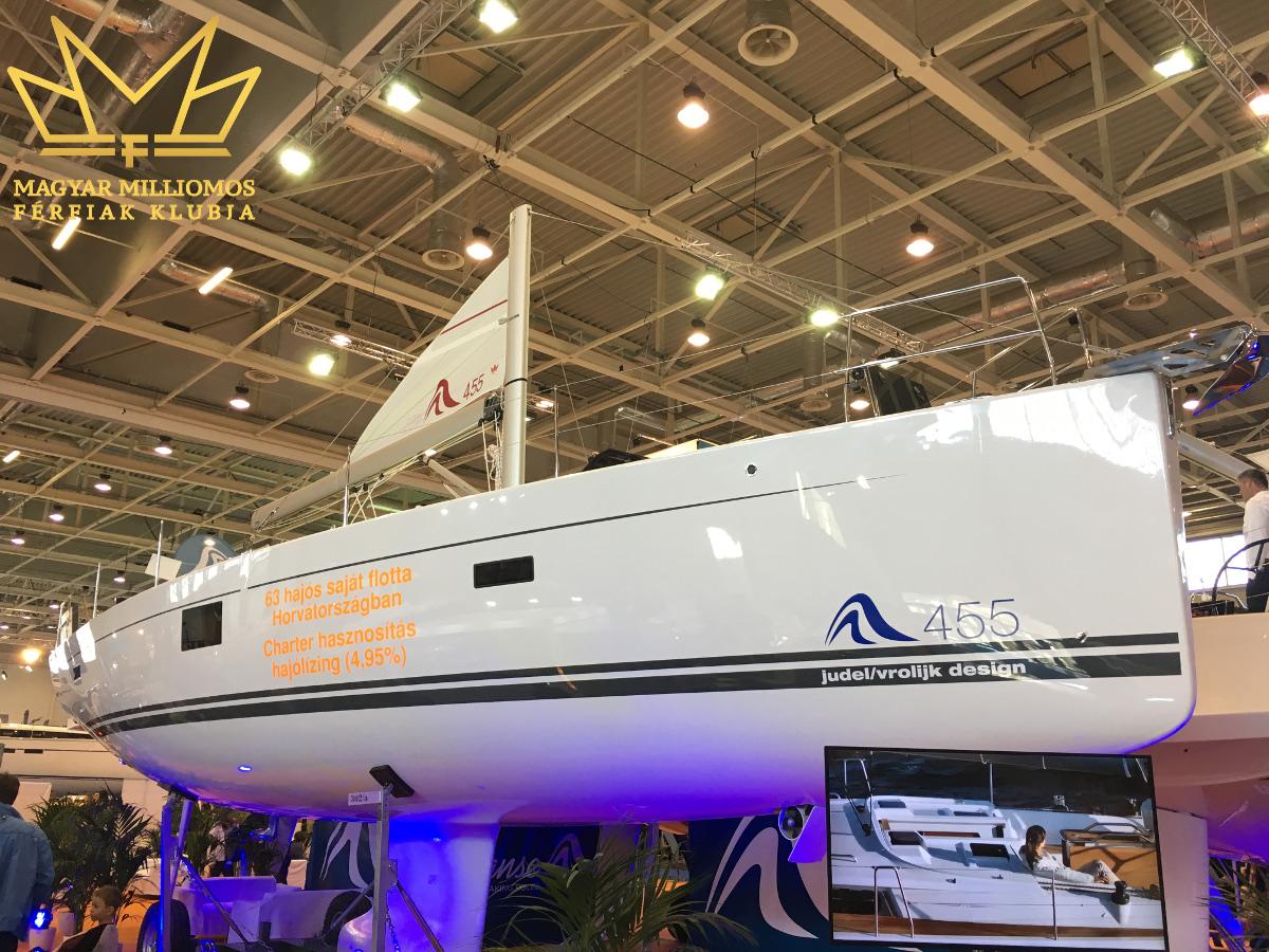 hanse 455 budapest boat show 2017 mmfklub