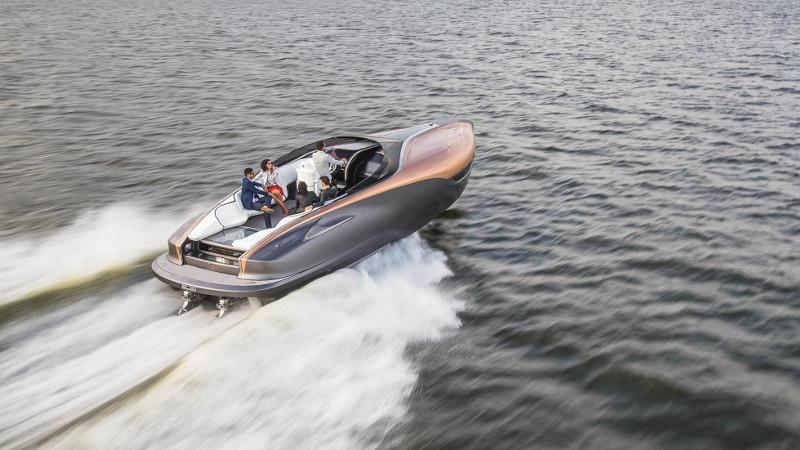 lexus motorcsónak maga a mennyország - exkluzív - gazdag - prémium - luxus - presztízs