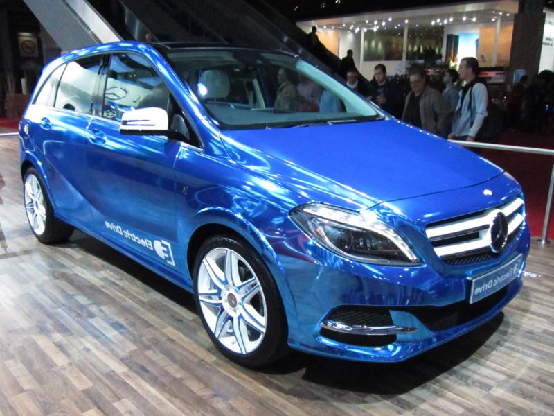 mercedes-benz b-class - elektromos autó exkluzív -gazdag - luxus - prémium - presztizs