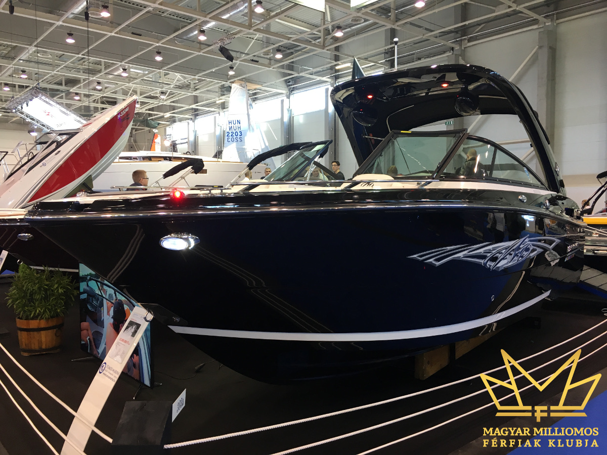 monterey 258 ss budapest boat show 2017