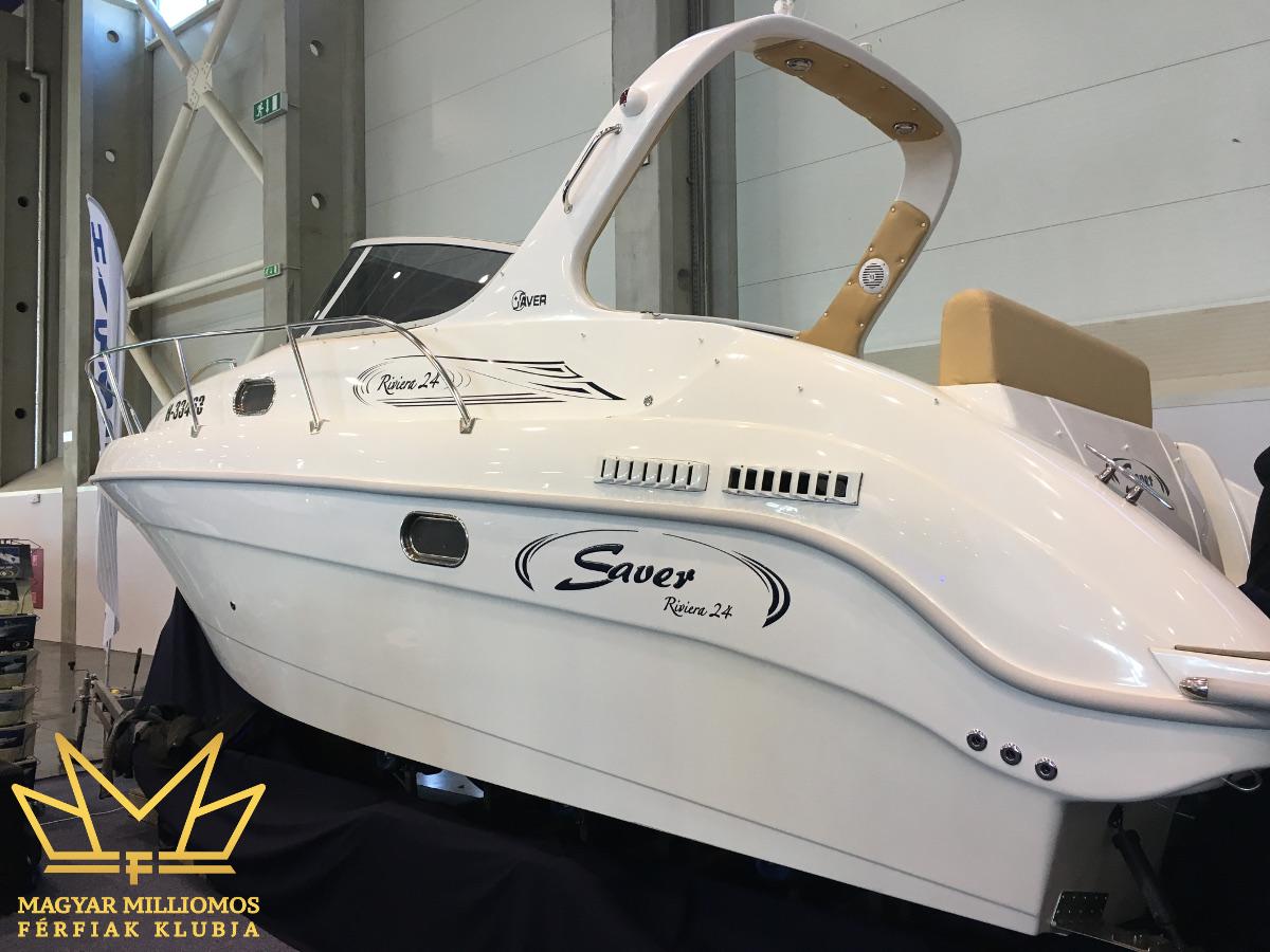 riviera saver 24 budapest boat show 2017