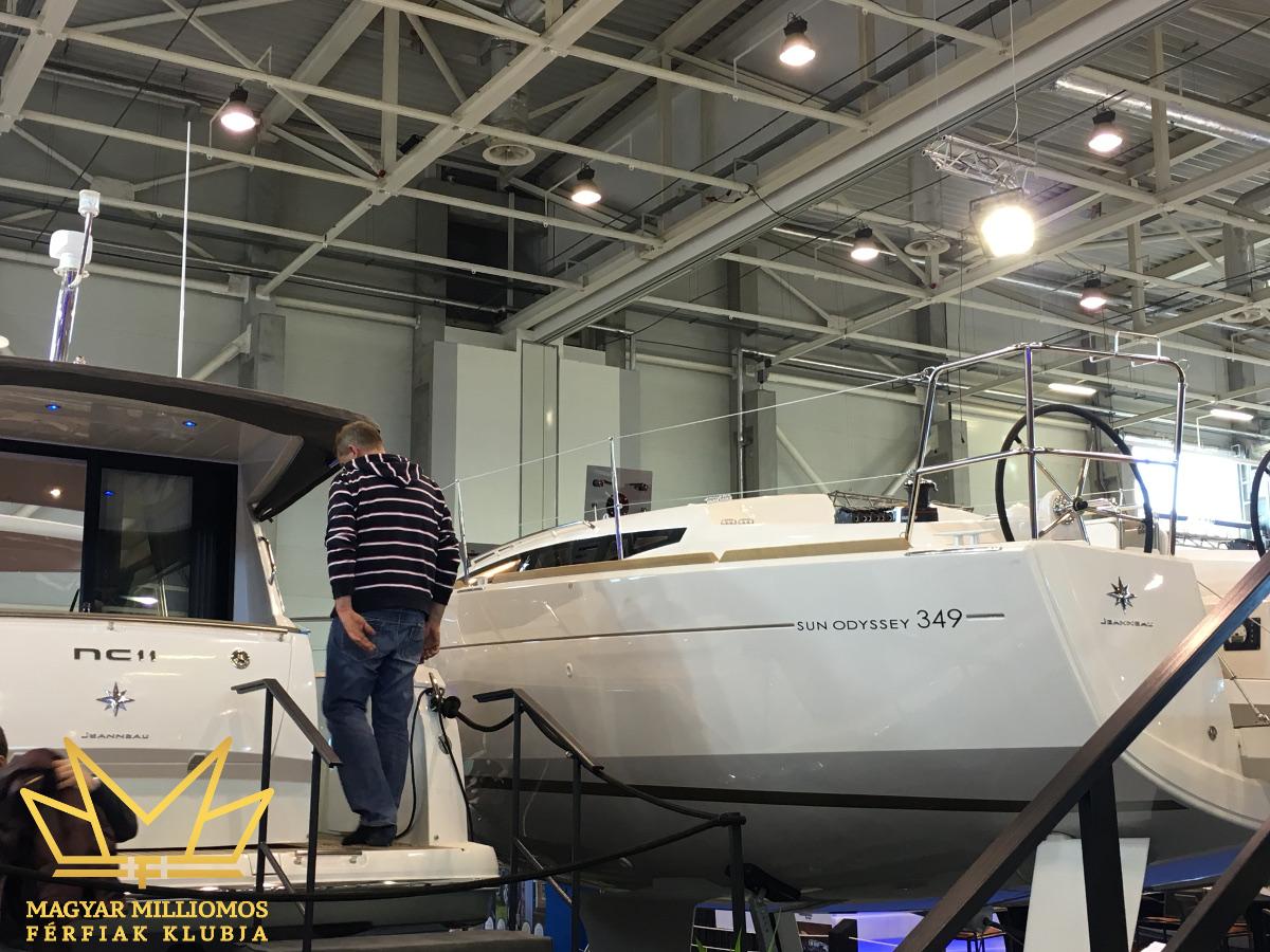 sun odyssey 349 budapest boat show 2017 mmfklub