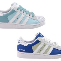 Adidas Facebook és Twitter cipő