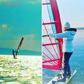 Windsurfing télen-nyáron - egyelőre csak az emlékeimben