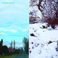 Tavaszból a télbe másfél óra alatt. Balcsiról Pestre