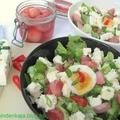 Főtt retek saláta gomolyával