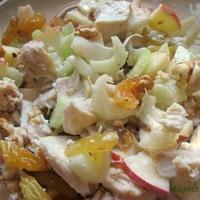 Waldorf saláta csirkével- fittness selection
