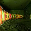 Light Art Performance