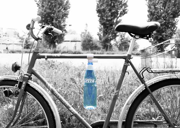 egyedi design víztartó biciklire