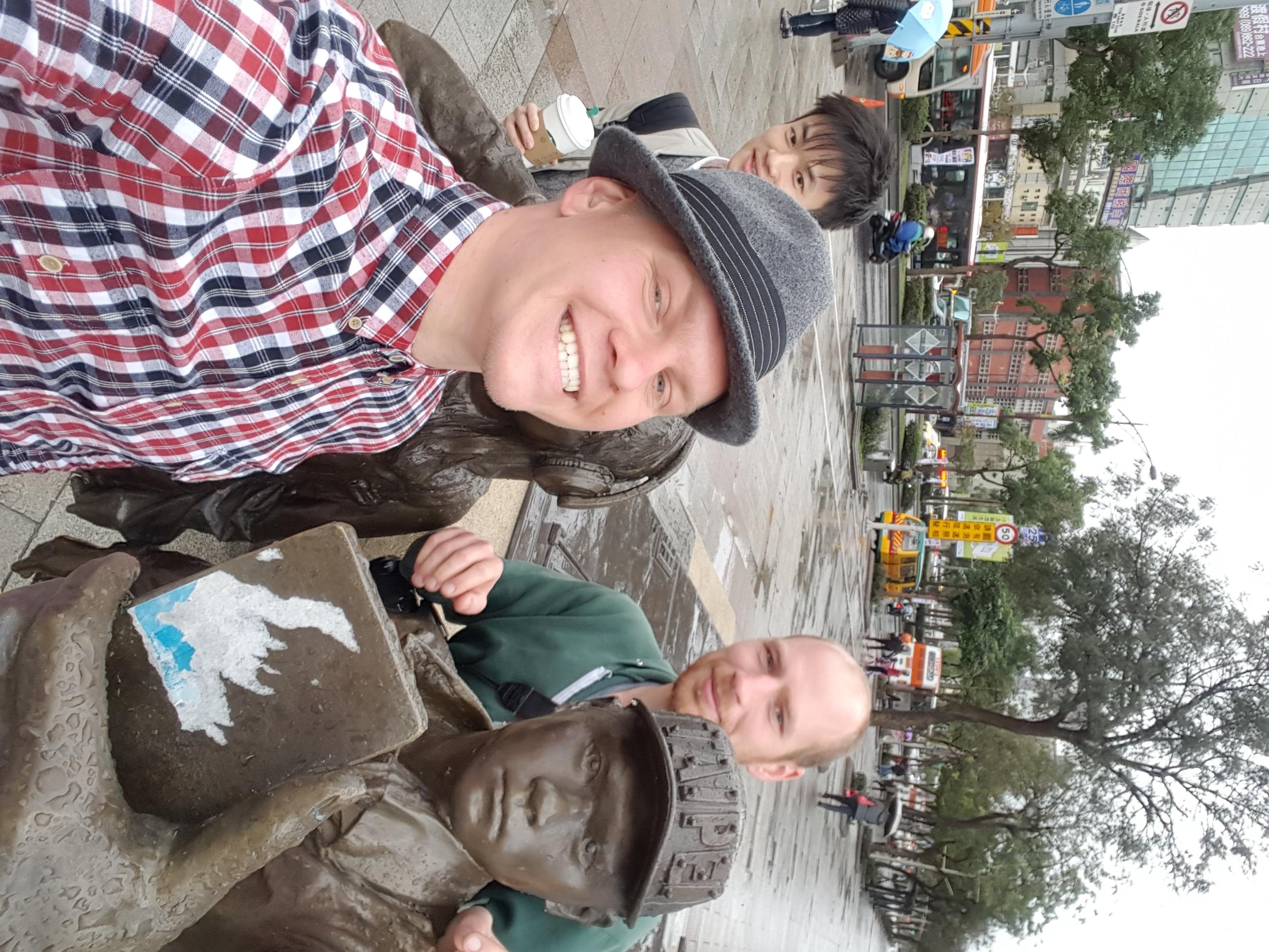 Nem vicc, Selfi szobor!