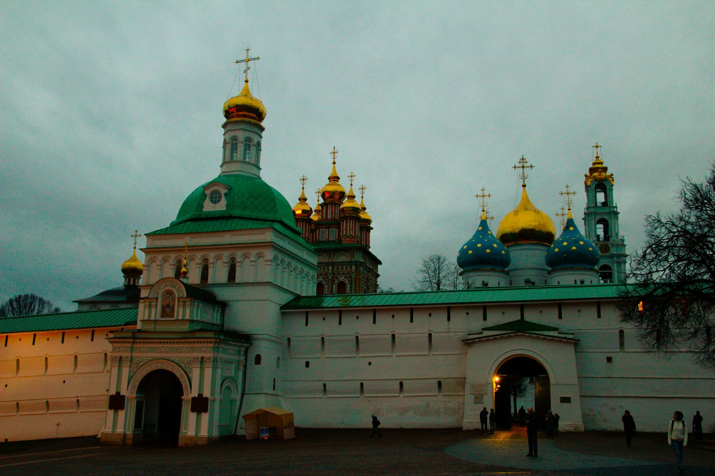 A Szentháromság–Szergij-kolostor bejárata