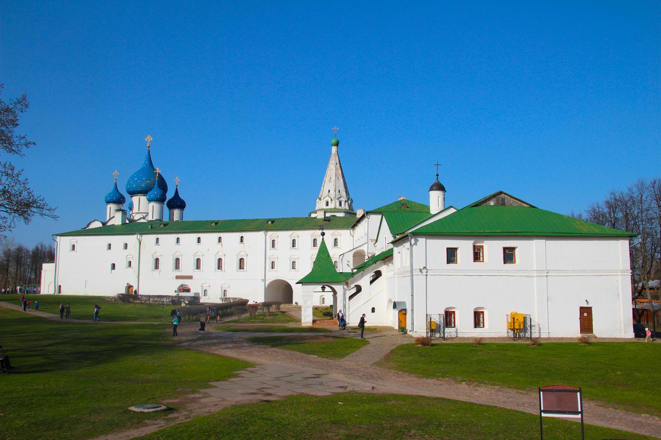 A szuzdali kreml