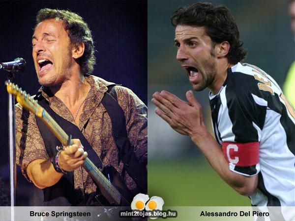 Bruce Springsteen - Alessandro Del Piero - 2