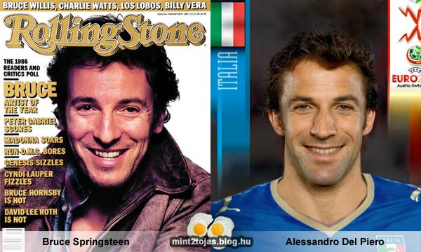 Bruce Springsteen - Alessandro Del Piero