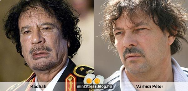 Kadhafi - Várhidi Péter