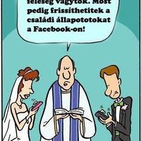 Mostantól férj és feleség vagytok...