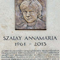 Gyalázatos emléktáblával emlékeztek meg Szalai Annamáriáról