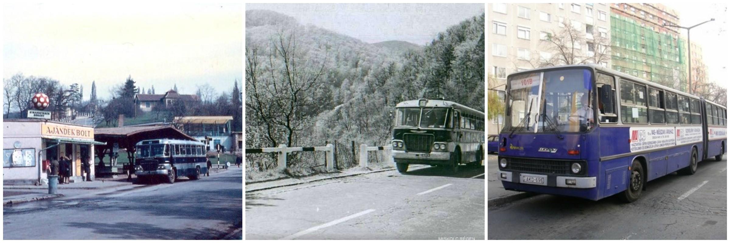 Letűnt buszjáratok nyomában