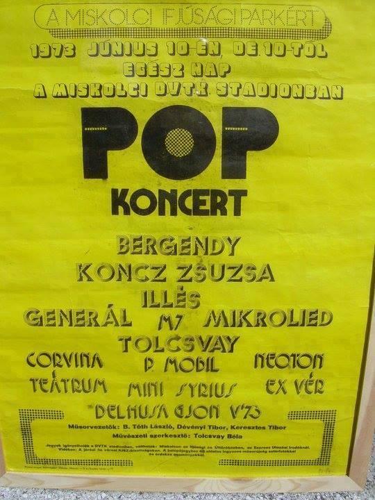 Boldog 45. születésnapot, kis magyar Woodstock!