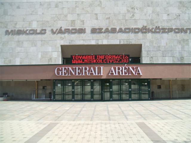 Miskolc Városi Sportcsarnok (Generali Aréna)